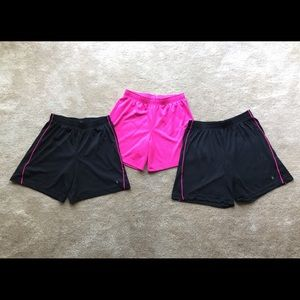 Bundle of 3 Danskin Now shorts